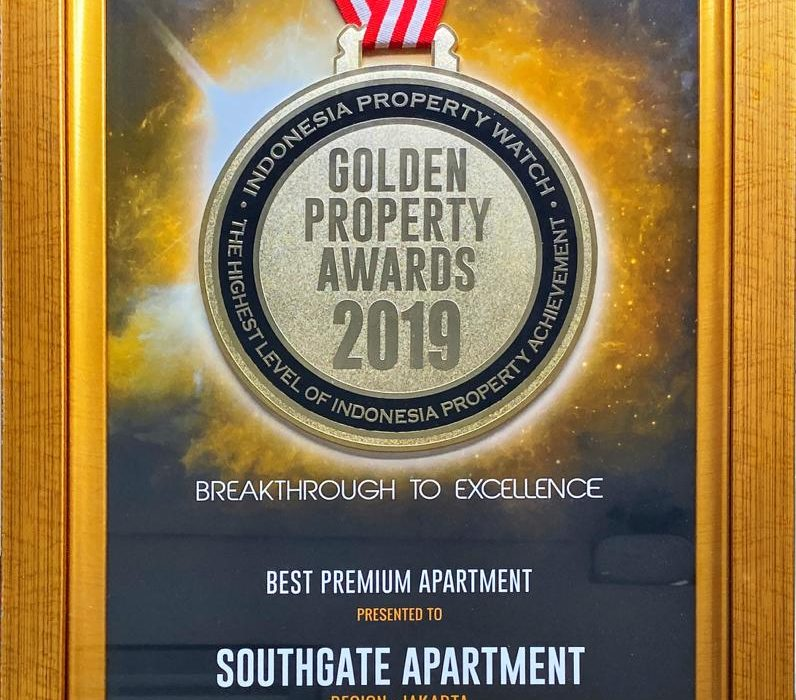 SOUTHGATE APARTMENT Raih Penghargaan Best Premium Apartment 2019