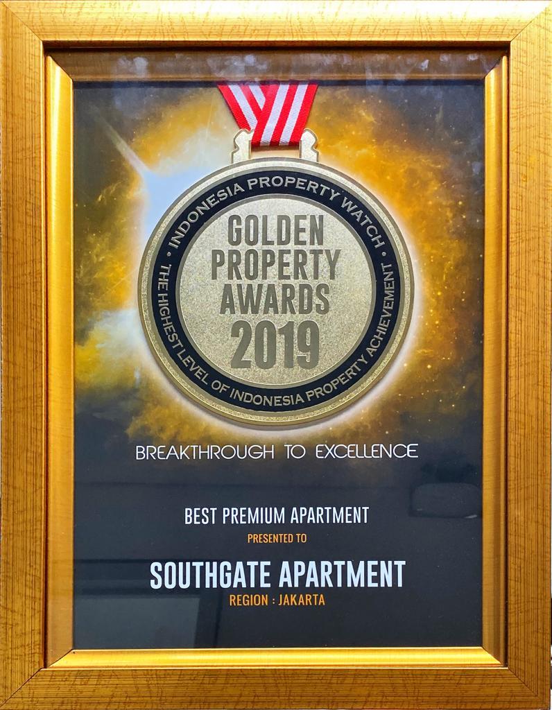 SOUTHGATE APARTMENT Raih Penghargaan Best Premium Apartment 2019